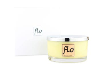 Scented soy wax candle - Energising - large