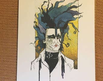 Edward Scissorhands print