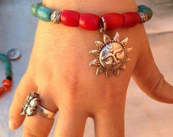 berebère bracelet silver moroccain artisanat make by hand bracelet argent