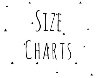 SIZE CONVERSION CHARTS-womens & men's clothing