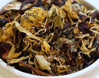 Cleansing Herbal Tea Blend Detox Tea Tisane (Pitta/Fire) Ayurvedic Tea, Loose Tea Blend No Caffeine
