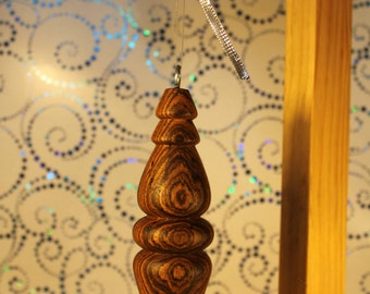 Bocote Wood Ornament