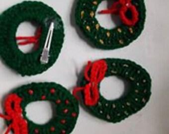 Wreath Pins/Hair Clips