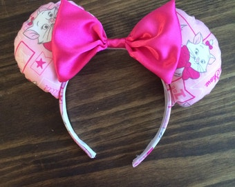 Disney Aristocat Marie Minnie Ears