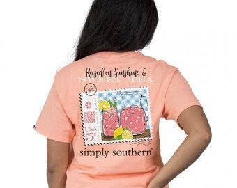 Simply Southern® PREPPYTEA-PEACHY
