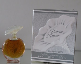 Histoire d'Amour  by Aubusson  - FULL - Miniature perfume bottle - Eau de Toilette Parfum-
