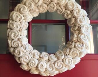 17 inch Sola Flower eco friendly wreath