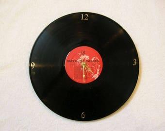 Queen Band Record Clock Made From Vinyl Album - Freddie Mercury