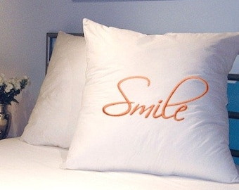 SMILE - Life Sentiments Embroidery Designs