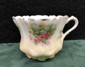 RS Prussia Pink Rose Tea Cup