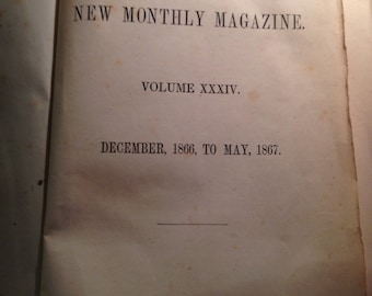 Harpers New magazine from 1867 Volume XXXIV 34