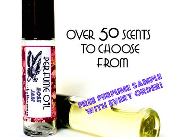 10 ml Organic Roll On Perfume // Choose Your Scent
