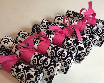Custom Made Bridesmaids Bundle Set of 7 Travel Jewelry Rolls