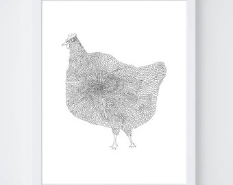 The Chicken Fine Art Print