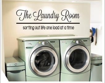 More Colors. The Laundry Room Vinyl Wall Decal ...