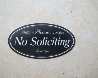 No Soliciting Sign | No Soliciting Signs Vintage | No Soliciting Signs | Please No Soliciting Sign | No Solicitation  Signs| No Solicitors