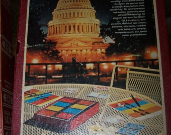 1971 mr. president political campaign and election board game