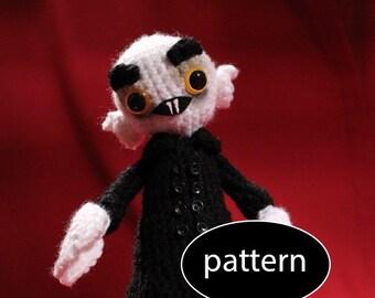Pattern for Nosferatu Amigurumi