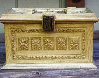 Vintage Max Klein Inc.  Plastic Sewing Box