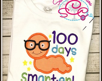 100 Days Smarter 100th Day of School Shirt