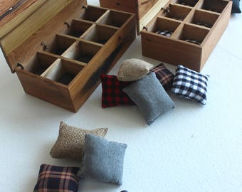 Watch Box For Men  |  handmade with cushions, rustic reclaimed wood wooden, mother's day, 5th anniversary gift for him, display case