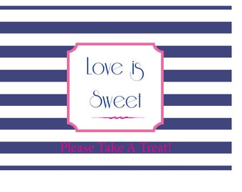 Nautical Love is Sweet Sign