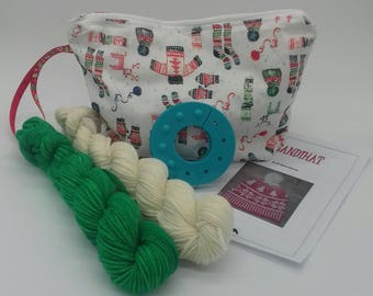 Knit your own Scandihat Kit - Green