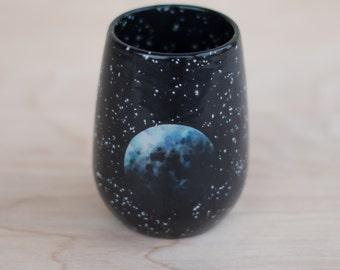 Planet Wine Glass