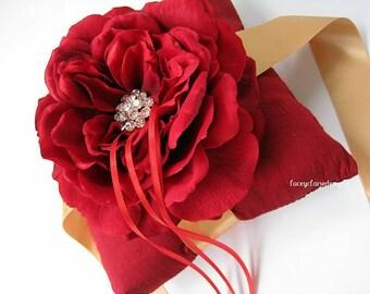 Ring Bearer Pillow Wedding Ring Pillow - Custom Made