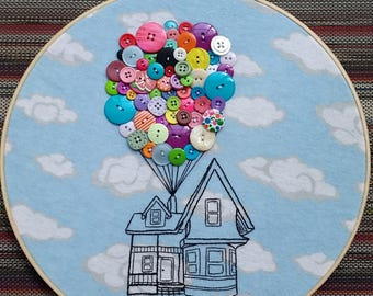 Up-12 inch embroidery hoop