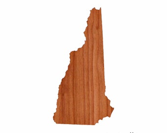 Personalized Cutting Board Engraved Gift New Hampshire Shaped Cutting Board Christmas Gift Kitchen Gift Foodie Gift Cutting Board Customized