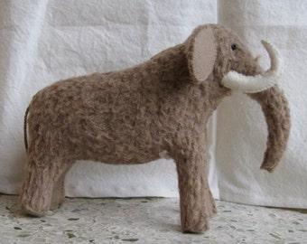 Mini-stuffed Wooly Mammoth