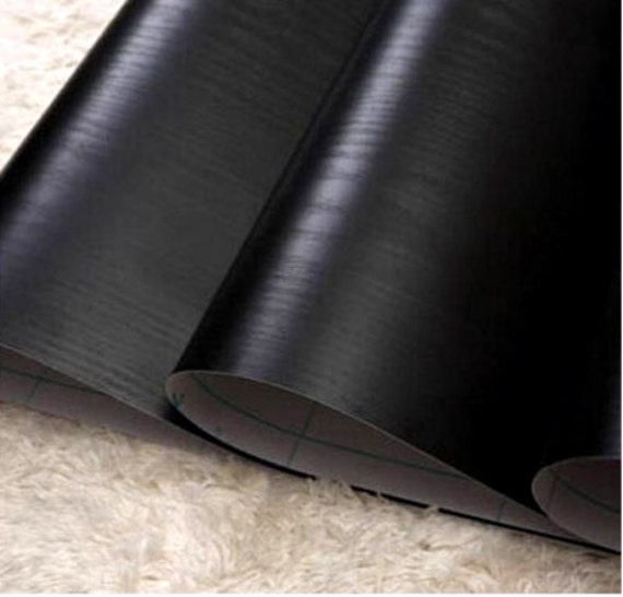 Shelf Paper For Kitchen Cabinets: Blackwood Wood Grain Contact Paper Shelf Liner Self-Adhesive
