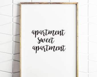 apartment art, apartment decor, apartment download, apartment prints, apartment printable, apartment wall art, apartment wall print