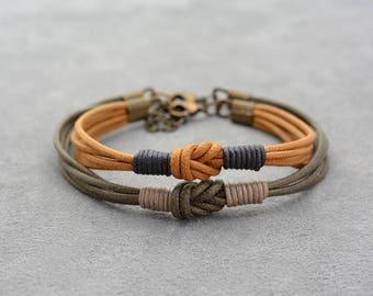 Couples Bracelet, Thin Bracelet, Simple Everyday Bracelet, Her His Bracelet, Matching bracelets, Couples gift, Boyfriend Girlfriend Gift