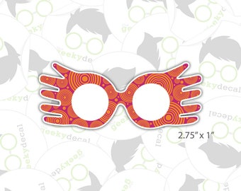 Sticker - Luna Lovegood Spectrespecs - Harry Potter Inspired Sticker