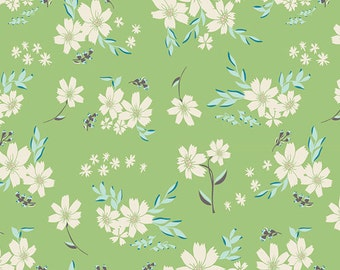 Art Gallery Fabrics, Bonnie Christine, Winged Fabric, Modern Fabric, Flyaway Petalums , Quilt Cotton, Floral Fabric, Fabric by the yard