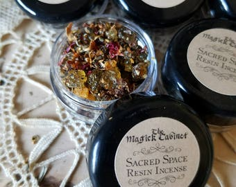SACRED SPACE Incense, Clearing, Witchcraft Supply, Wicca Supplies, Witchcraft, Wicca, Witch, Handcrafted Incense, Witch Incense Blends