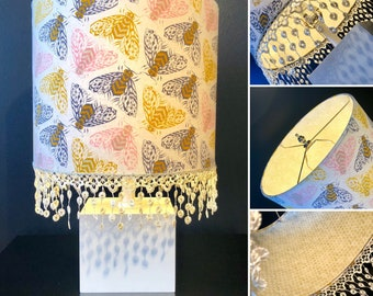 Handmade Honey Bee Lamp Shade