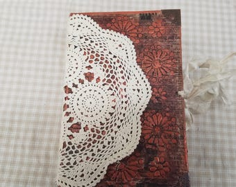 Junk Journal, Altered Book, smash book, scrapbook, diary, Blue Book Redo