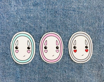 No Face from Spirited Away Stickers