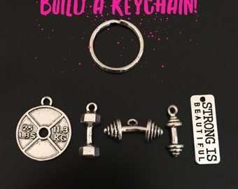 Build A Keychain! - Fitness, Exercise, Weight Loss, Bodybuilding, Personal Trainer, Dumbbell, Strength, Strong Is Beautiful