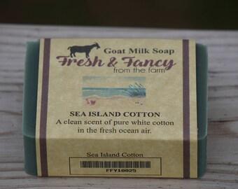 Sea Island Cotton Goat Milk Soap