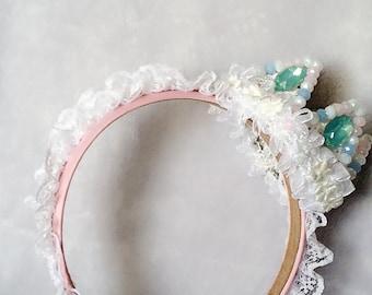Delectable pastel crown