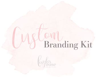 Custom Branding Kit, Branding Kit, Branding Package, Custom Branding, Custom Logo Design, Business Logo, Photography Logo, photography logo