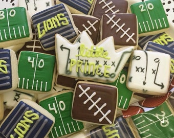 4 Pack Football Minis Party Favors/Game Snack - Only 5 Dollars Each!