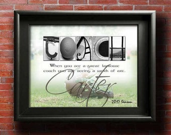 Lacrosse Coach Gift, Gift for Coaches, Lacrosse Goalie, Lacrosse For Girl, Lacrosse Coach Gifts, Lacrosse Coach Art, Coaches Gift PRINTABLE