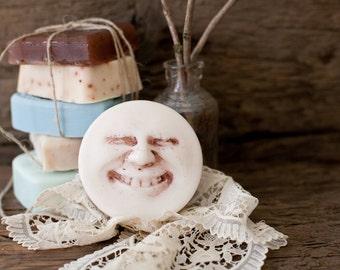 Island Coconut . Happy Face Soap