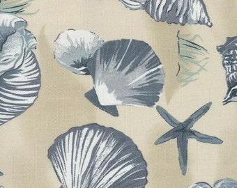 Sea Shell China Indoor Outdoor Fabric