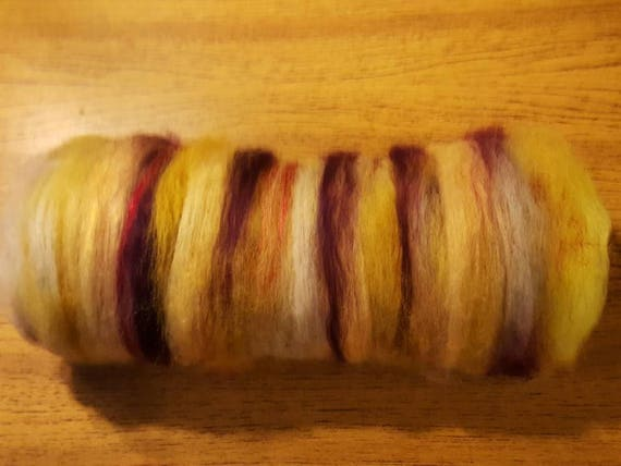 Mixed Fine Fiber Batts for Spinning or Felting